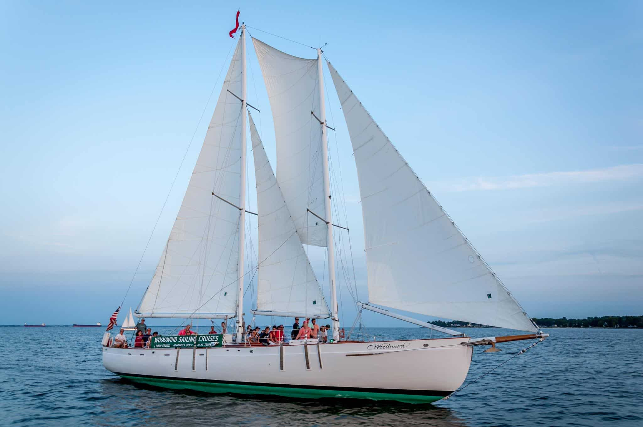 Schooner Woodwind on Chesapeake Bay