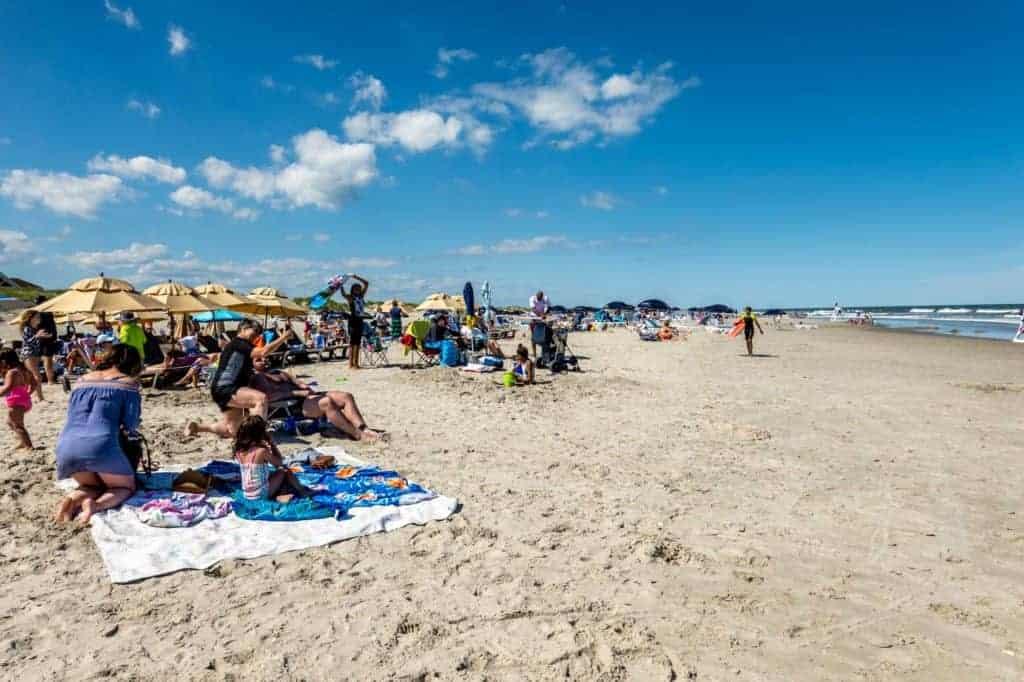 Beach in Avalon NJ