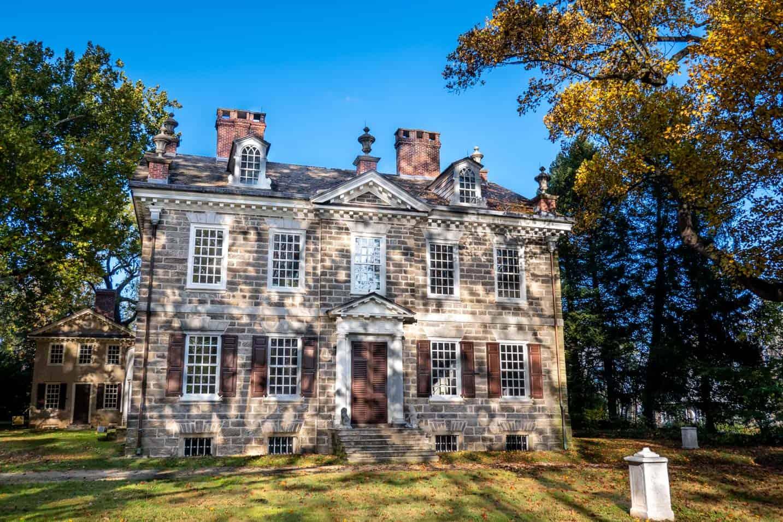 Brick Georgian style house