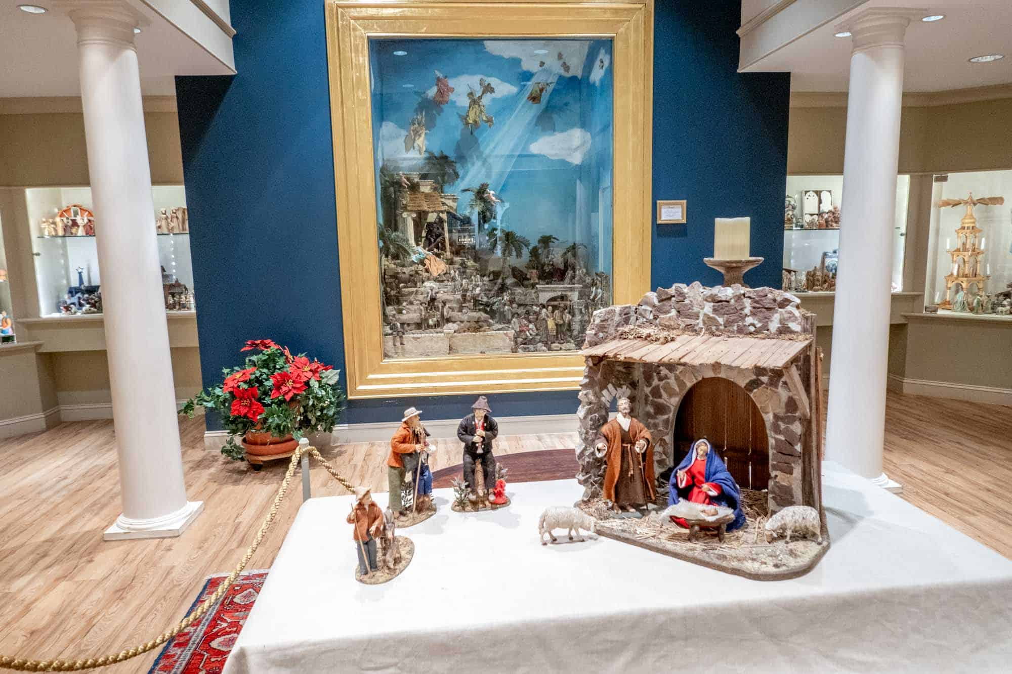 A creche collection of figurines from around the world