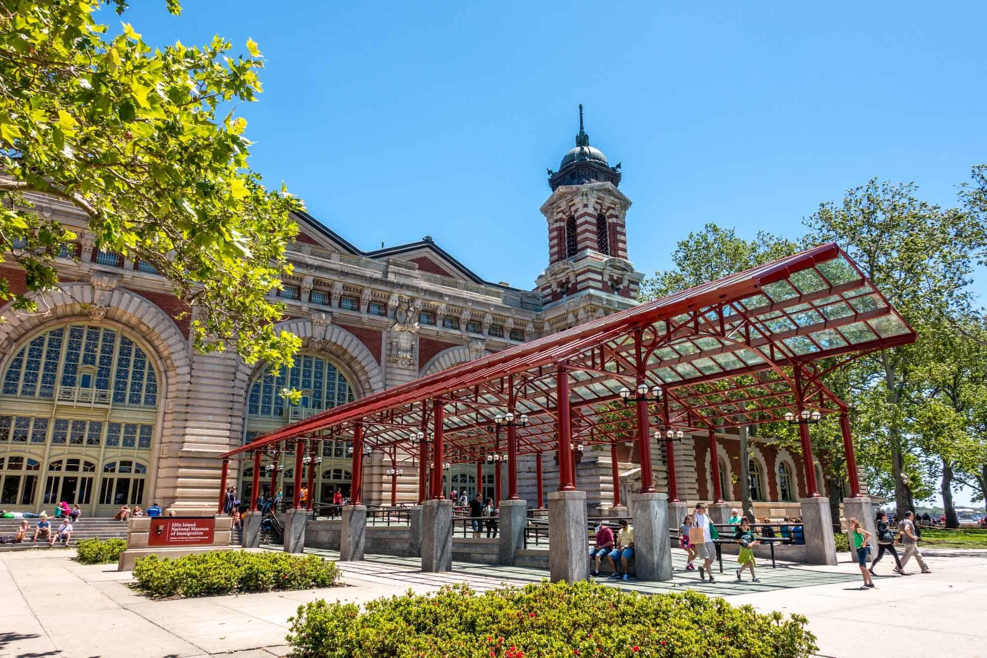 Entry to Ellis Island Museum