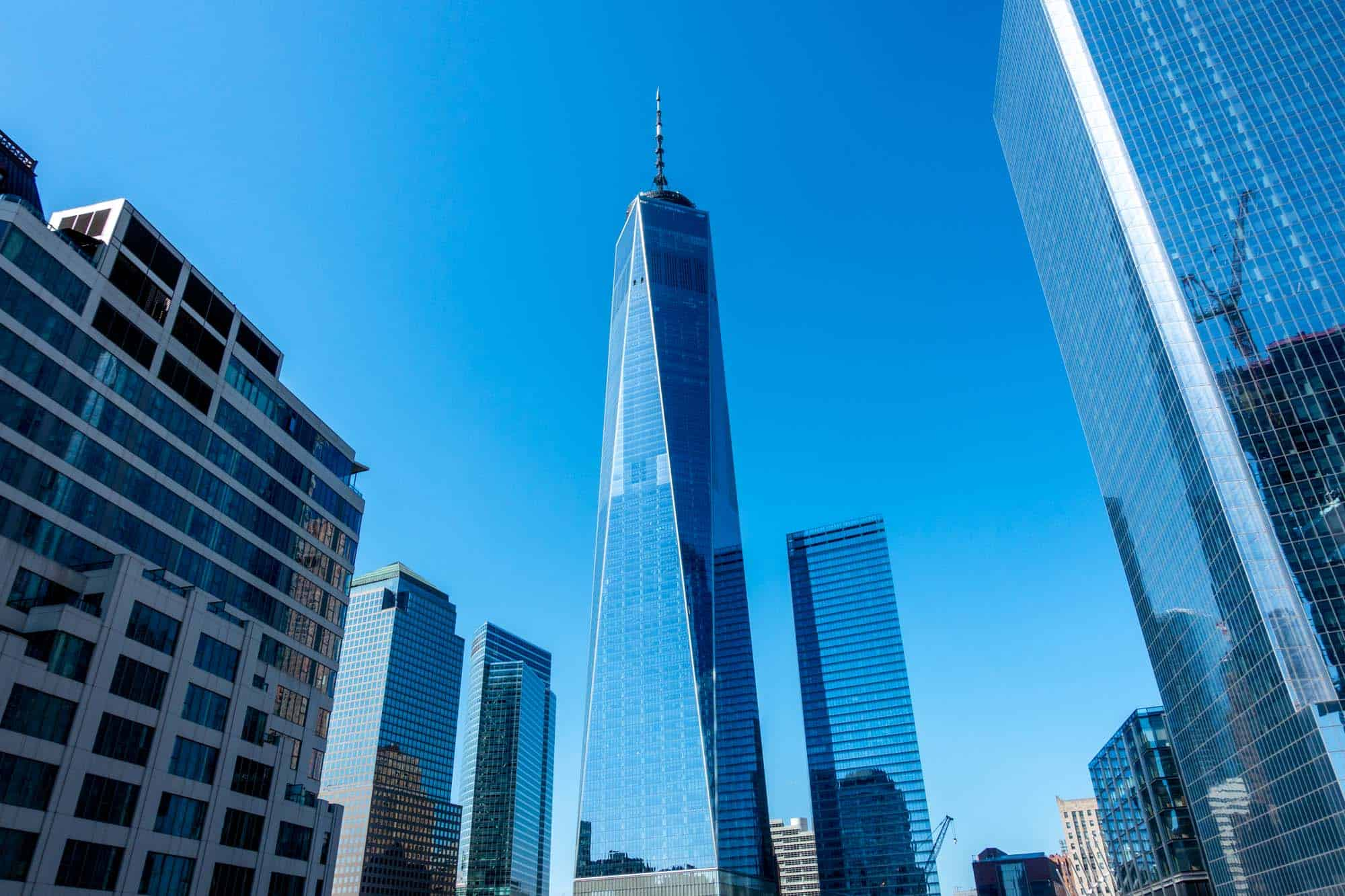 One World Trade Center tower