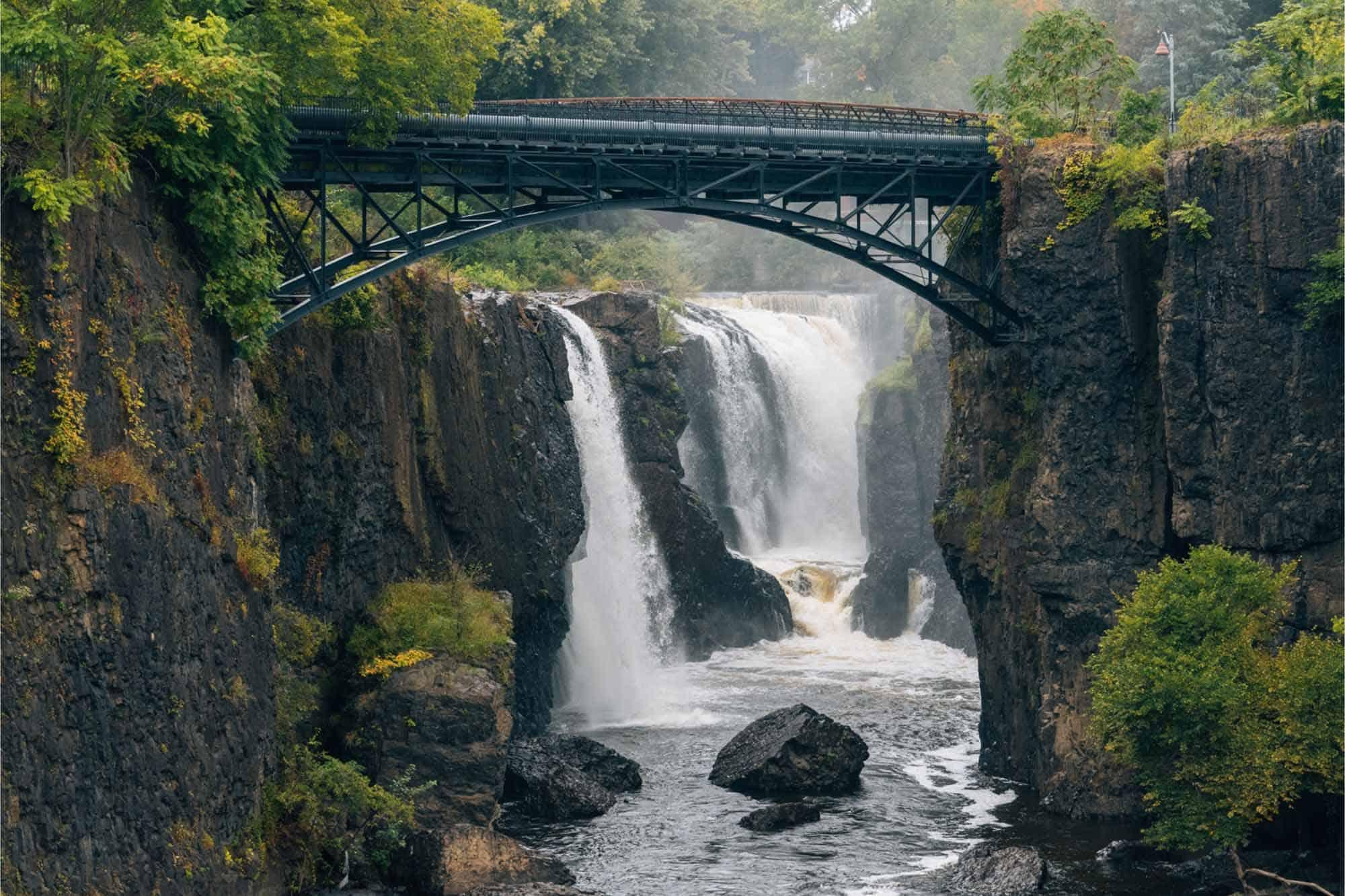 Paterson Great Falls and bridge