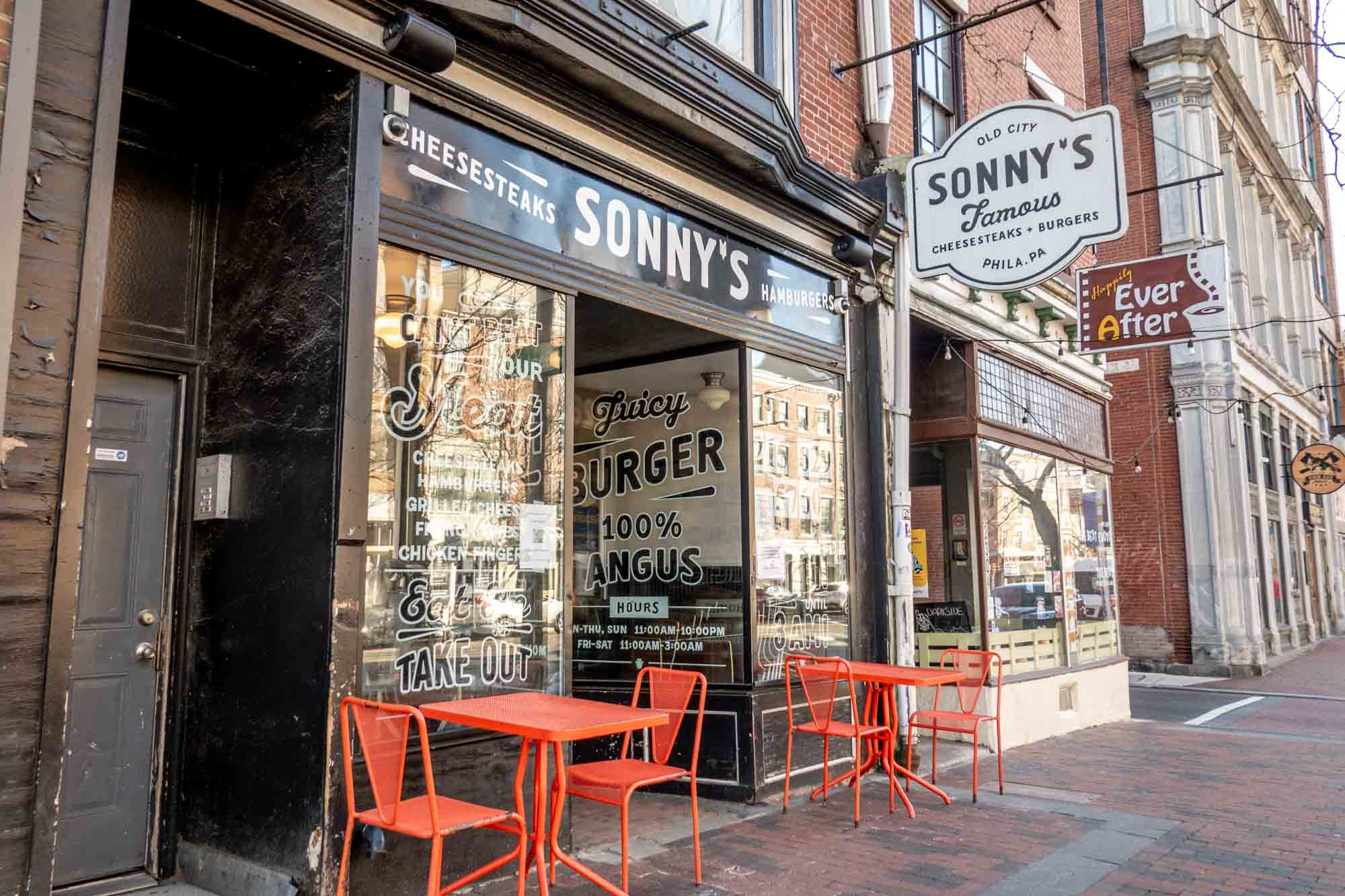 Exterior of Sonny's